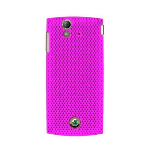 KATINKAS 2108044311 Hard Cover for Sony Ericsson Xperia Ray - Air - 1 Pack - Retail Packaging - Magenta (Ericsson Case Sony Phone)