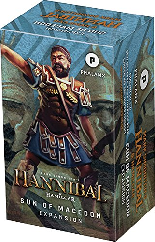 Ares Games Hannibal & Hamilcar: Sun of Macedon Expansion