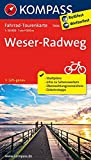 Weserradweg: Fahrrad-Tourenkarte. GPS-genau. 1:50000. (KOMPASS-Fahrrad-Tourenkarten, Band 7006)