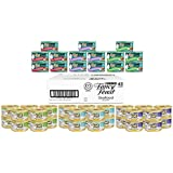 Purina Fancy Feast Seafood Collection Adult Wet Cat Food Variety Pack - (45) 3 oz. Cans