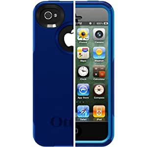 OtterBox Commuter Series Case for iPhone 4/4S  - Retail Packaging - Blue/Navy (Discontinued by Manufacturer)
