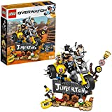 LEGO Overwatch Junkrat & Roadhog 75977 Building Kit, Overwatch Toy for Girls and Boys Aged 9+, New...