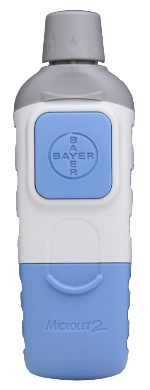 Bayer Microlet Lancing Device.