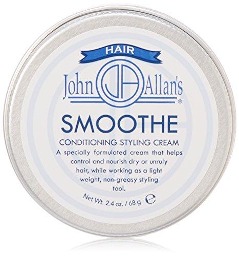 John Allans Smoothe Hair Cream, 2.4 oz