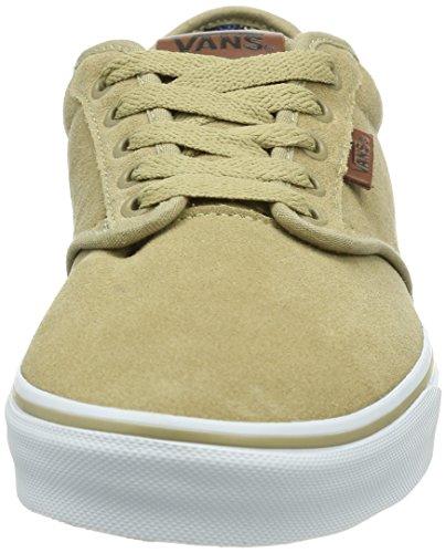 Vans M ATWOOD DELUXE (Suede), Sneakers da Uomo Beige (Beige (Khaki/Guatemala))