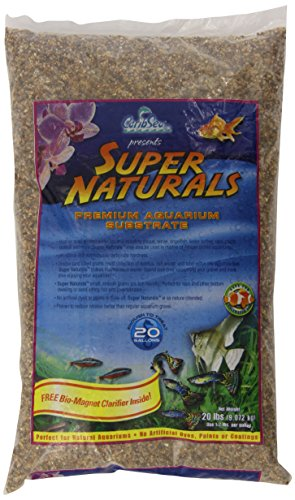 - Carib Sea ACS00832 Peace River Gravel for Aquarium, 20-Pound