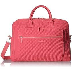 Vera Bradley Iconic Grand Weekender Travel Bag, Microfiber, Coral Reef