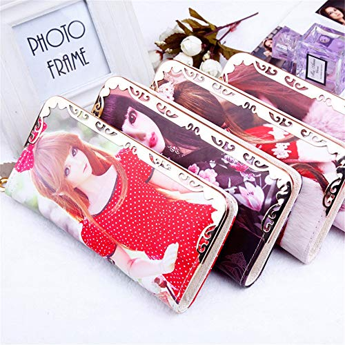 Long Girls Red Zero Bag Stylish Money Purse Doll For Red Color Young Hand Barbie Zw5vH6wq