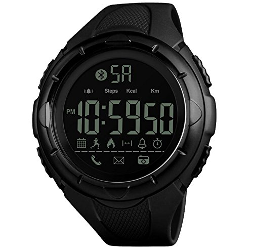 Reloj smart sports,Perfecto impermeable casual simple multifunción led reloj digital para deportes interiores y al aire libre-A: Amazon.es: Relojes
