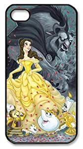 meilinF000Mystic Zone Beauty and The Beast iPhone 4 Case for ipod touch 5 Cover Classic Cartoon Fits Case KEK0494meilinF000