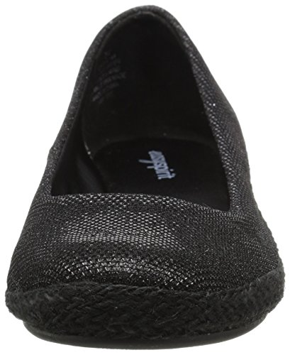 Easy Spirit Womens Dellina Espadrille Black