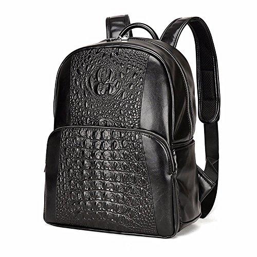 Die Business Rucksack für Männer Männer Shoulder Bag fashion Rucksack Schwarz