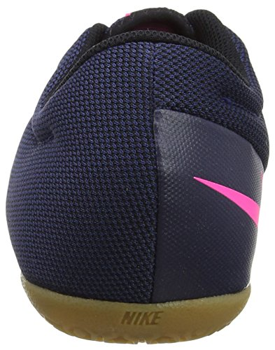 Nike Mercurialx Pro Ic, Botas de Fútbol para Hombre Azul (Midnight Navy/midnight Navy-pink Blast)
