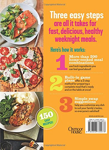 Cooking Light 3 Step Express Meals Easy Weeknight Recipes For Todays Home Cook The Editors Of 9780848739973 Amazon Books