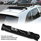 VGEBY 1 par de Tablas de Surf Surf portaequipajes, Portador de Correas de fijación Sup con Kayak para Auto de 10 kg con Bolsa de Almacenamiento y Almohadillas