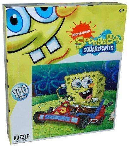 elodeon SpongeBob Squarepants 00-Piece Puzzle, Riding - Nick 1