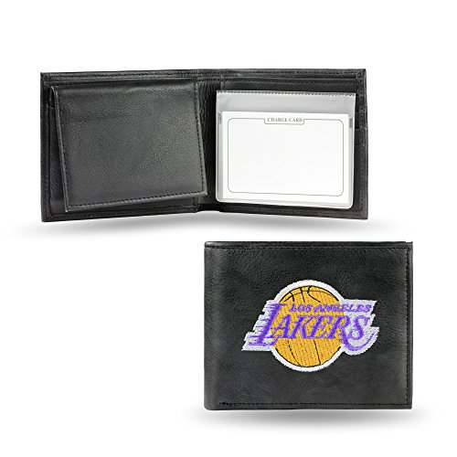 NBA Los Angeles Lakers Embroidered Leather Billfold ()