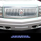 APS Compatible with 2002-2006 Cadillac Escalade EXT EXV Main Upper Billet Grille Insert S18-A66358A