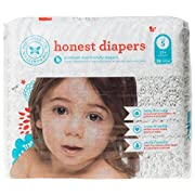 The Honest Company Disposable Diapers - Skulls - Size 1-44 ct