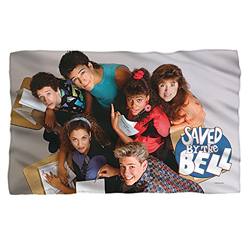 Price comparison product image Group Shot -- Saved By The Bell -- Fleece Throw Blanket