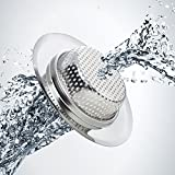 Fengbao-2PCS-Kitchen-Sink-Strainer-Stainless-Steel-Large-Wide-Rim-45-Diameter