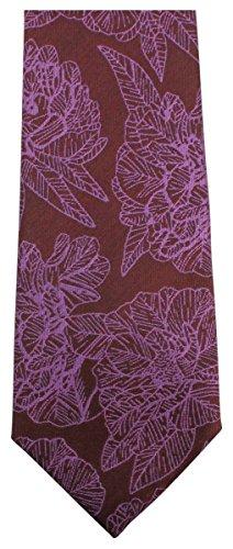 Knightsbridge Neckwear Mens Large Floral Tie - ()