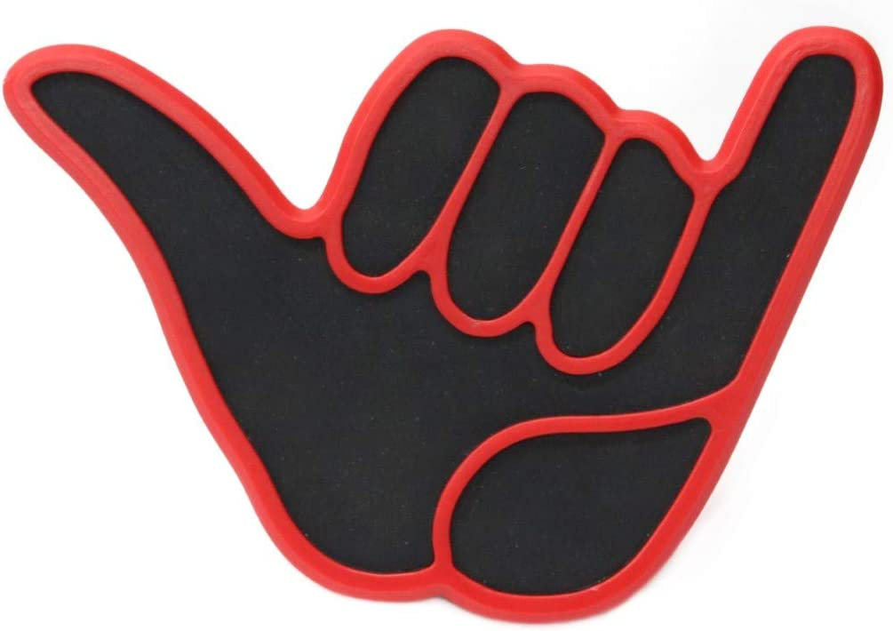 Shaka Hitch Cover Red
