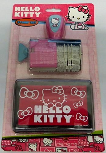 1 X Hello Kitty Stamp Set