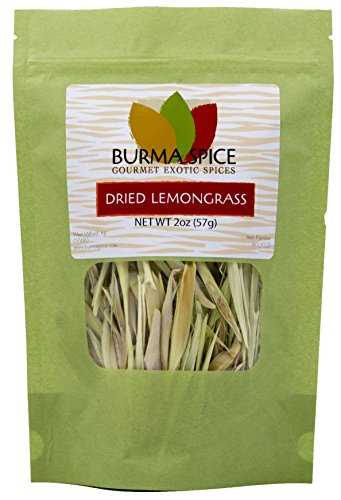 Dried Sliced Lemongrass | 100% Pure - Perfect for Lemongrass tea, Tom Yum and Tom Kha soups | Kosher Certified | (2 -