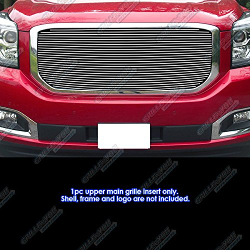 APS Compatible with 2015-2020 GMC Yukon Denali Main Upper Billet Grille Grill Insert N19-A82368G