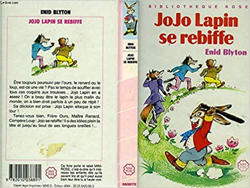Jojo Lapin Se Rebiffe Serie Minirose Collection