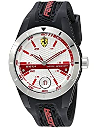Men's 0830250 REDREV T Analog Display Quartz Black Watch