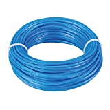 Silverline 675275 Trimmer Line Seven Star 2.4 mm x 15 m, Assorted Colors ( Blue / Black )