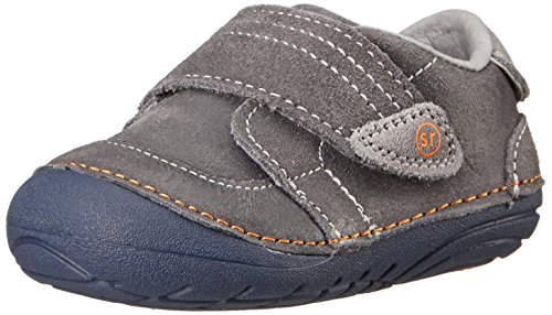 Stride Rite Soft Motion Kellen Sneaker (Infant/Toddler),Grey,6 W US Toddler (Boys Soft Leather)
