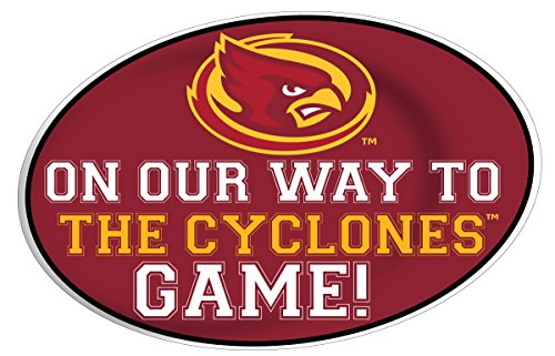 - R and R Imports Iowa State Cyclones Jumbo Game Day Peel & Stick 2-Pack