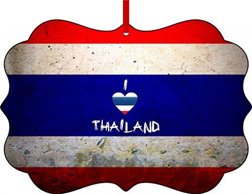 Thailand Flag-I Love Thailand