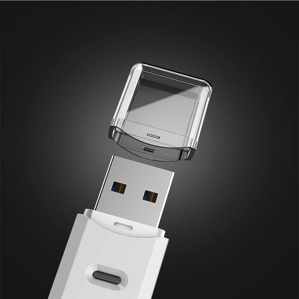 Junio1 Lettore di schede USB 3.0 Portatile ad Alta velocità per Computer Smartphone Lettori schede di Memoria Esterni