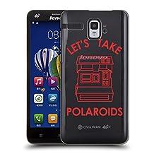 Official Sagepizza Let's Take Polaroids Designs Hard Back Case for Lenovo S90 Sisley