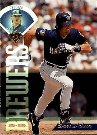 Amazoncom 1995 Leaf Baseball Card 73 Dave Nilsson Collectibles