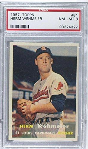herm-wehmeier-psa-graded-8-baseball-card-1957-topps-base-81