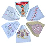 Microfiber Cleaning Cloths by Toyo World-6 Pieces, Different Printed Patterns-Ideal for Cleaning Glasses, Sunglasses, Camera Lenses, iPad, Phones,and Other Delicate Surfaces
