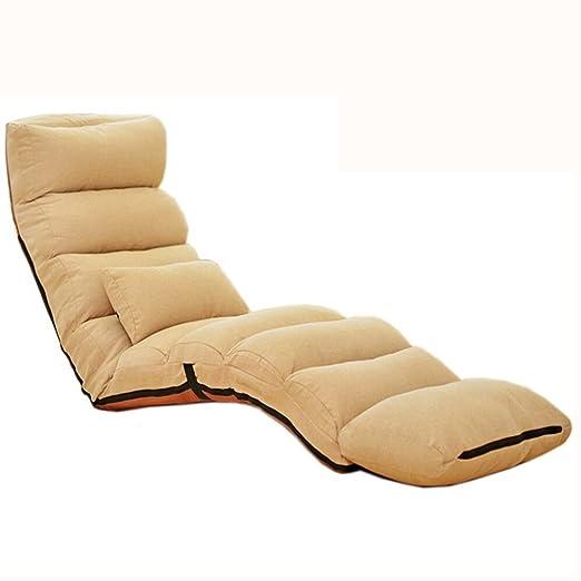 Gbf Sofá Perezosa sofá Individual de Tatami Elegante sofá ...