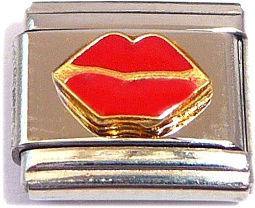 Red Lips Italian Charm (Red Shoe Italian Charm)