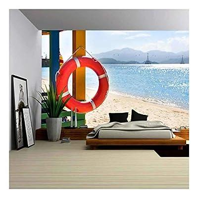 Incredible Handicraft, Open Lifeguard Tower on The Beach Nha Trang Vietnam, Premium Product