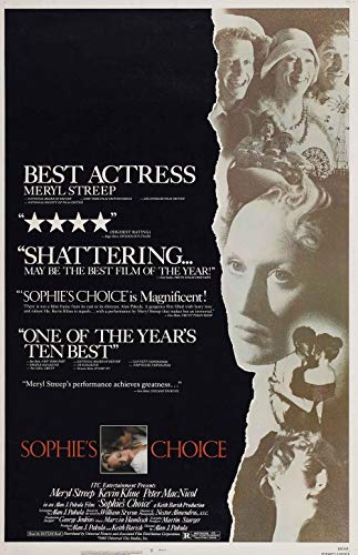 qualityprint Sophies Choice Home Decor Print Movie Poster 18'' X 28'' (NOT A DVD)