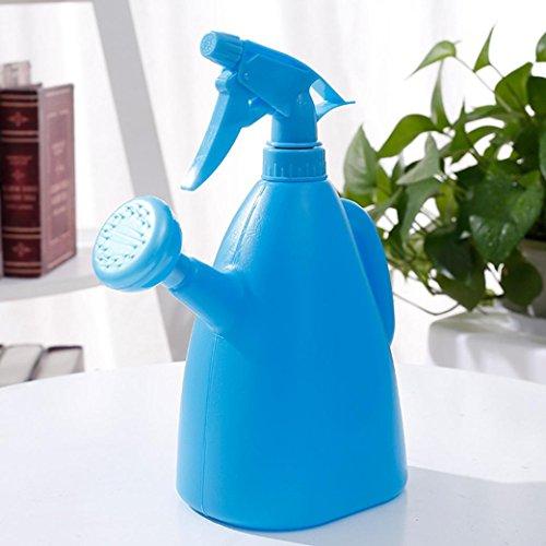 Hudson Hand Sprayers - Sujing Water Spray Bottle Watering Pot Water Trigger Garden Accessory Sprayers Multifunction Watering Can - 400ML (blue)