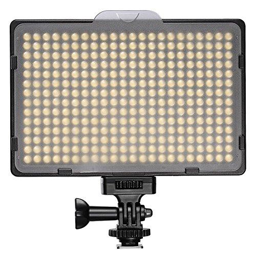 Neewer® PT-308S LED 5600K 20W Dimmbare Auf der-Kamera-Videoleuchte für Canon, Nikon, Pentax, Panasonic, Sony, Samsung, Olympus und andere digitale Spiegelreflexkameras