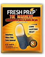 WORLD-BIO Disposable Toe Warmers Heating Pads Adhesive Thin Mini Patch Keep Warm in Chill Winter as Snow Mobile Trip, Dog Walking, Snowboards - foot hand warmers