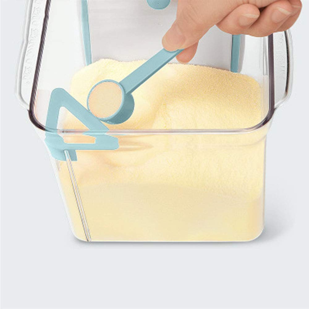 Cereals BPA-freier Milchpulverbeh/älter Snacks Formula Powder Dispenser Tragbarer Versiegelter Lebensmittelbeh/älter F/ür Milchpulver
