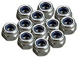 Traxxas 2745 Nylon Locknuts, 3mm, 12-Piece